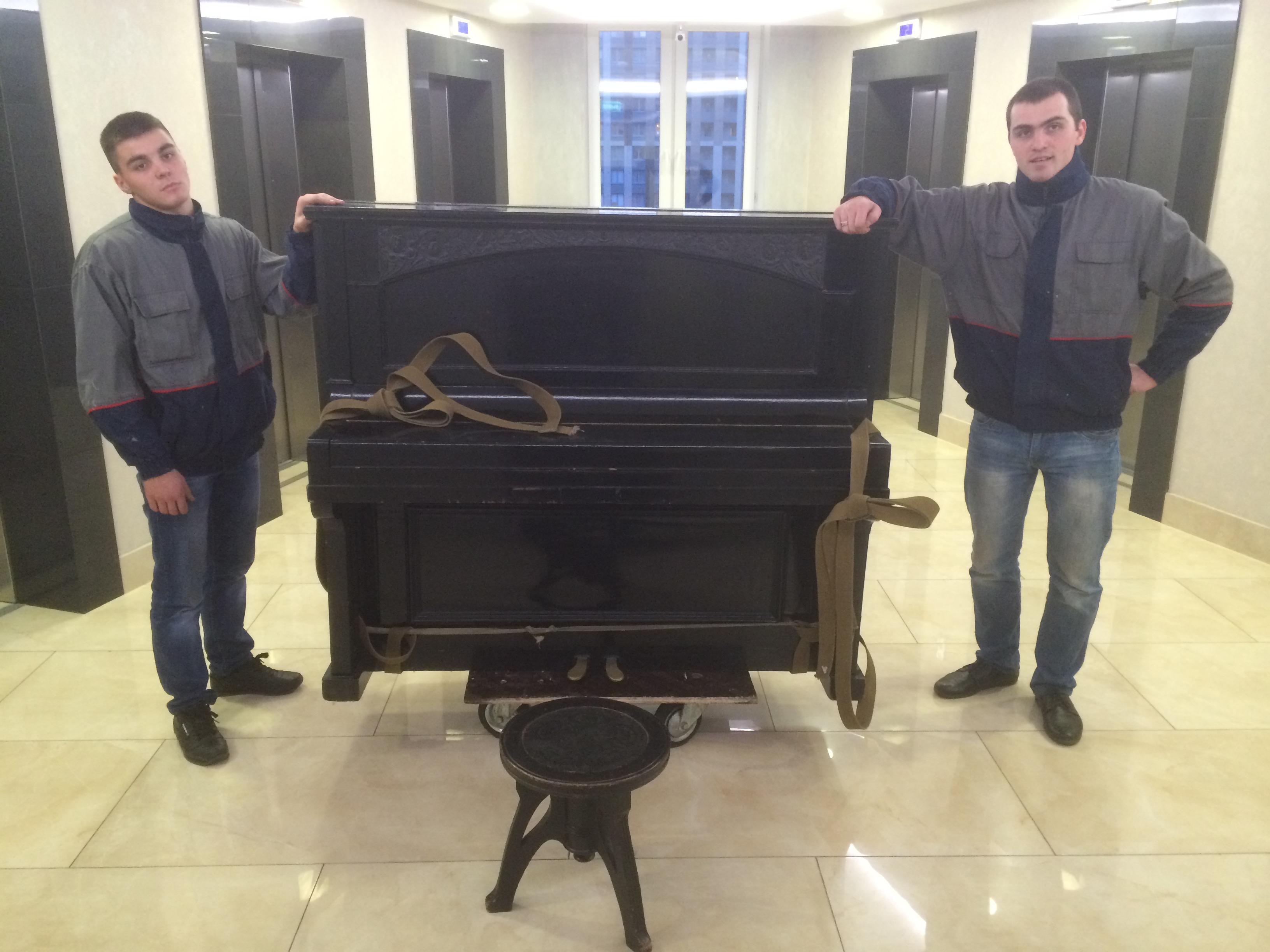 Преревозка пианино фортепиано в Спб